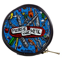 Album Cover Pierce The Veil Misadventures Mini Makeup Bags