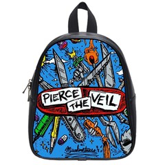 Album Cover Pierce The Veil Misadventures School Bag (small)