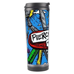 Album Cover Pierce The Veil Misadventures Travel Tumbler