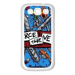 Album Cover Pierce The Veil Misadventures Samsung Galaxy S3 Back Case (white) by Samandel