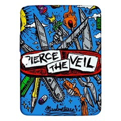 Album Cover Pierce The Veil Misadventures Samsung Galaxy Tab 3 (10 1 ) P5200 Hardshell Case  by Samandel