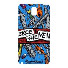 Album Cover Pierce The Veil Misadventures Samsung Galaxy Note 3 N9005 Hardshell Back Case by Samandel