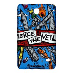 Album Cover Pierce The Veil Misadventures Samsung Galaxy Tab 4 (7 ) Hardshell Case  by Samandel