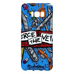 Album Cover Pierce The Veil Misadventures Samsung Galaxy S8 Plus Hardshell Case  by Samandel