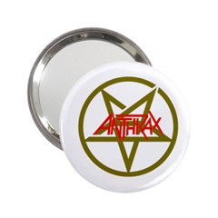 Anthrax Band Logo 2 25  Handbag Mirrors