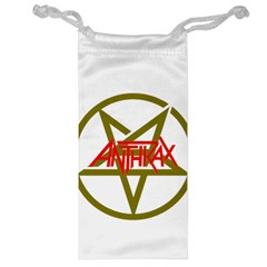 Anthrax Band Logo Jewelry Bag by Samandel