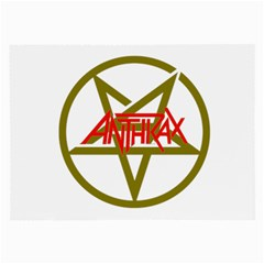Anthrax Band Logo Large Glasses Cloth