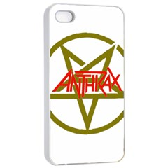 Anthrax Band Logo Apple Iphone 4/4s Seamless Case (white)
