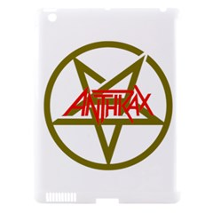 Anthrax Band Logo Apple Ipad 3/4 Hardshell Case (compatible With Smart Cover)