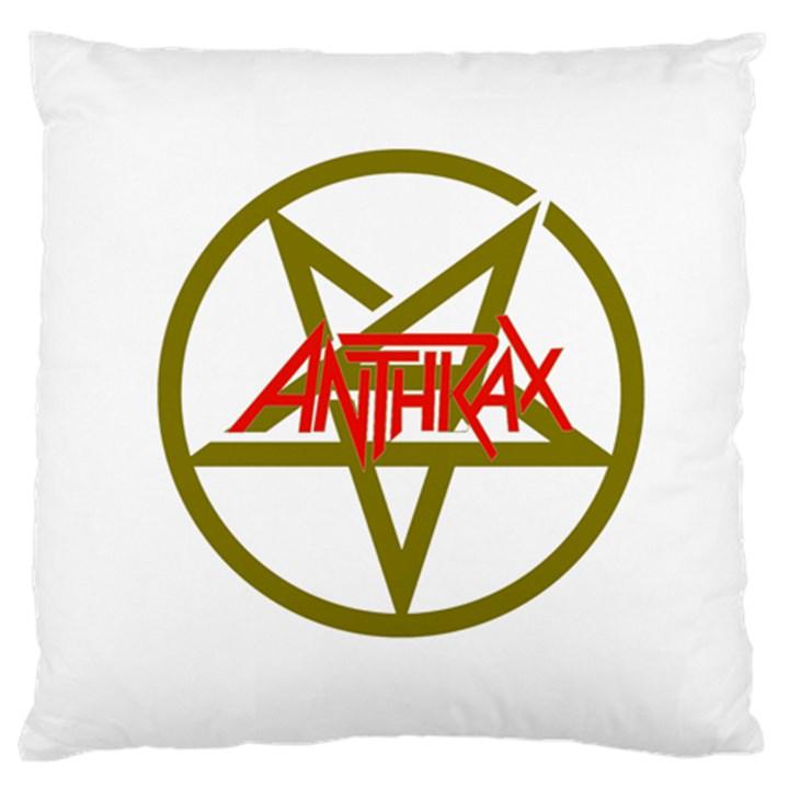 Anthrax Band Logo Large Cushion Case (One Side)