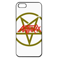 Anthrax Band Logo Apple Iphone 5 Seamless Case (black)