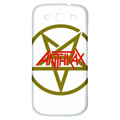 Anthrax Band Logo Samsung Galaxy S3 S Iii Classic Hardshell Back Case