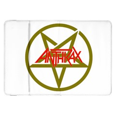 Anthrax Band Logo Samsung Galaxy Tab 8 9  P7300 Flip Case
