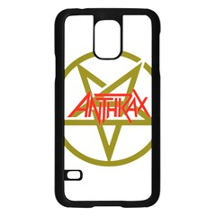 Anthrax Band Logo Samsung Galaxy S5 Case (black)