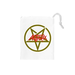 Anthrax Band Logo Drawstring Pouches (small)