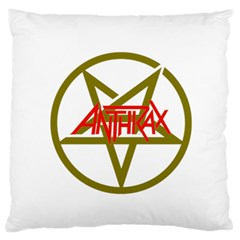 Anthrax Band Logo Large Flano Cushion Case (one Side) by Samandel