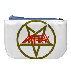 Anthrax Band Logo Large Coin Purse
