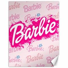 Barbie Pattern Canvas 18  X 24