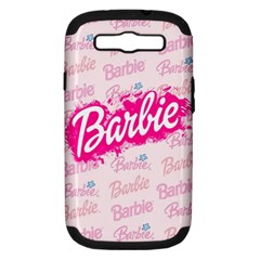 Barbie Pattern Samsung Galaxy S Iii Hardshell Case (pc+silicone)
