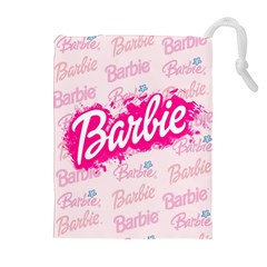 Barbie Pattern Drawstring Pouches (extra Large)