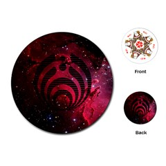 Nectar Galaxy Nebula Playing Cards (round)  by Samandel