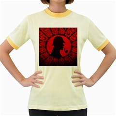 Book Cover For Sherlock Holmes And The Servants Of Hell Women s Fitted Ringer T Shirts