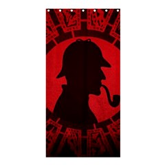 Book Cover For Sherlock Holmes And The Servants Of Hell Shower Curtain 36  X 72  (stall)