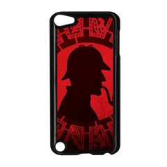 Book Cover For Sherlock Holmes And The Servants Of Hell Apple Ipod Touch 5 Case (black)