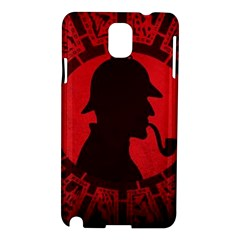 Book Cover For Sherlock Holmes And The Servants Of Hell Samsung Galaxy Note 3 N9005 Hardshell Case