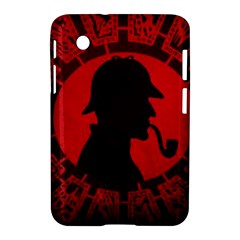Book Cover For Sherlock Holmes And The Servants Of Hell Samsung Galaxy Tab 2 (7 ) P3100 Hardshell Case