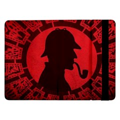 Book Cover For Sherlock Holmes And The Servants Of Hell Samsung Galaxy Tab Pro 12 2  Flip Case