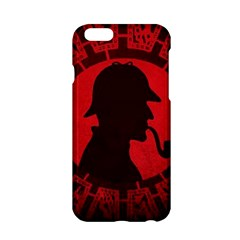 Book Cover For Sherlock Holmes And The Servants Of Hell Apple Iphone 6/6s Hardshell Case by Samandel