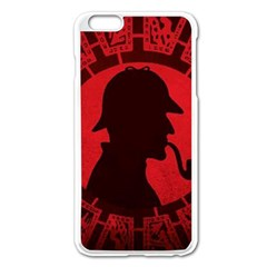 Book Cover For Sherlock Holmes And The Servants Of Hell Apple Iphone 6 Plus/6s Plus Enamel White Case