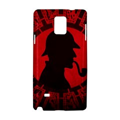 Book Cover For Sherlock Holmes And The Servants Of Hell Samsung Galaxy Note 4 Hardshell Case