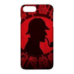 Book Cover For Sherlock Holmes And The Servants Of Hell Apple Iphone 7 Plus Hardshell Case