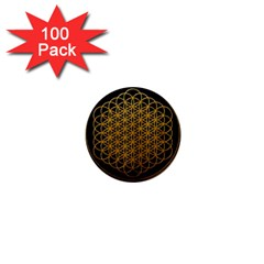 Tree Of Live Pattern 1  Mini Buttons (100 Pack)