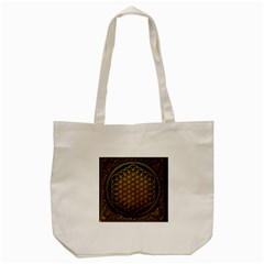 Tree Of Live Pattern Tote Bag (cream) by Samandel