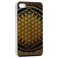 Tree Of Live Pattern Apple Iphone 4/4s Seamless Case (white) by Samandel