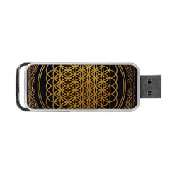Tree Of Live Pattern Portable Usb Flash (one Side)