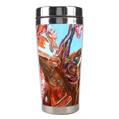 Coral Tree Blooming Stainless Steel Travel Tumblers by bestdesignintheworld
