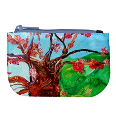 Coral Tree Blooming Large Coin Purse by bestdesignintheworld