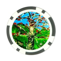 Coral Tree 2 Poker Chip Card Guard