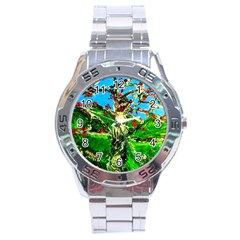 Coral Tree 2 Stainless Steel Analogue Watch
