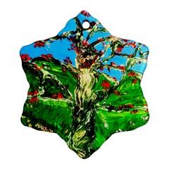 Coral Tree 2 Ornament (snowflake) by bestdesignintheworld