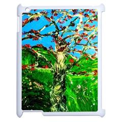 Coral Tree 2 Apple Ipad 2 Case (white) by bestdesignintheworld