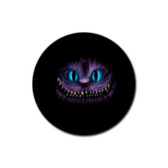 Cheshire Cat Animation Rubber Coaster (round)