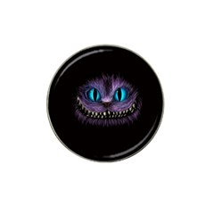 Cheshire Cat Animation Hat Clip Ball Marker