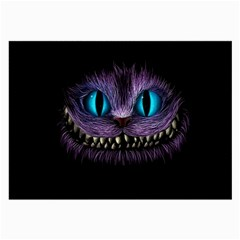 Cheshire Cat Animation Large Glasses Cloth