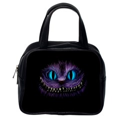 Cheshire Cat Animation Classic Handbags (one Side)