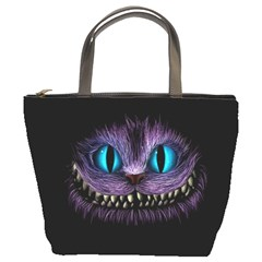 Cheshire Cat Animation Bucket Bags
